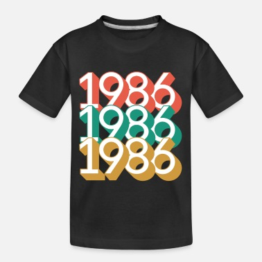 Year Of Birth 1986 - Year of birth - Kid's Organic T-Shirt