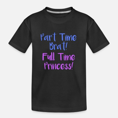 Ageplay Brat Prinzessin BDSM Sadomasi DDLG Little Ageplay - Kid's Organic T-Shirt