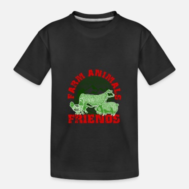 Diet Farm animals - Kid's Organic T-Shirt