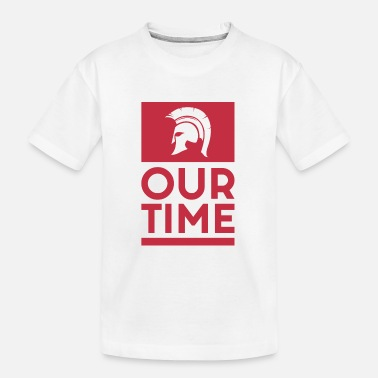 Greece Spartans OUR TIME - Kid's Organic T-Shirt