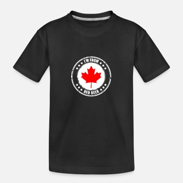Red Deer I'm from RED DEER - Kid's Organic T-Shirt