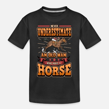 Equitation Horse Pony Riding Gallop Horseman Gift - Kid's Organic T-Shirt