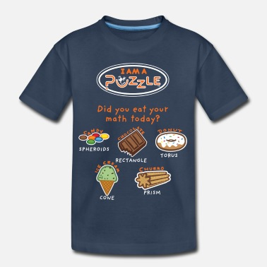 Did you EAT your math today? - Kid's Organic T-Shirt