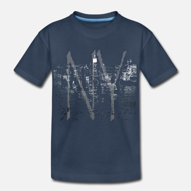 Landmark Cool New York Souvenir - Kid's Organic T-Shirt