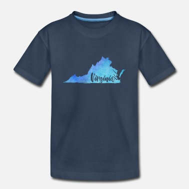 Virginia Virginia - Kid's Organic T-Shirt