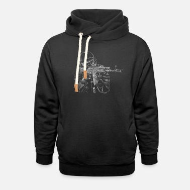 Air Force Special Operations Special Forces - Unisex Shawl Collar Hoodie