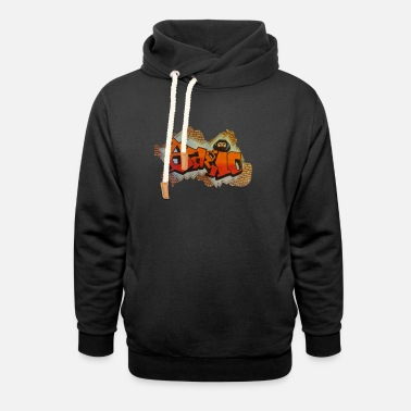 Fan Art Bagio Fan Art by LMDRUMMER - Unisex Shawl Collar Hoodie