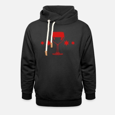 Aperitif alcohol aperitif glass 60 - Unisex Shawl Collar Hoodie