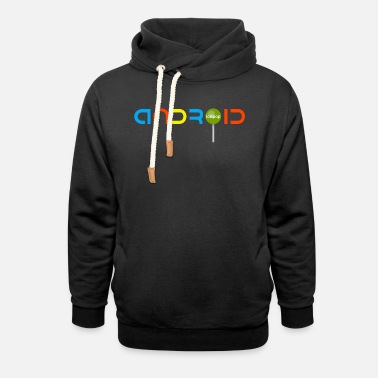 Android Android Lollipop - Unisex Shawl Collar Hoodie