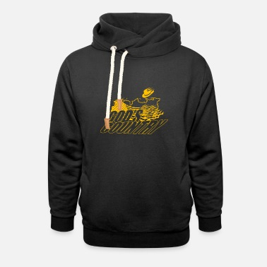Gods Gods Vountry YL Country Music Kit - Unisex Shawl Collar Hoodie