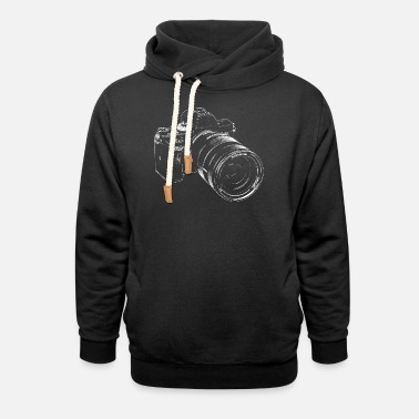 Photographer Cool camera - Shawl Collar Hoodie
