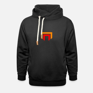 Destiny Game Red Legion Pixelated - Unisex Shawl Collar Hoodie