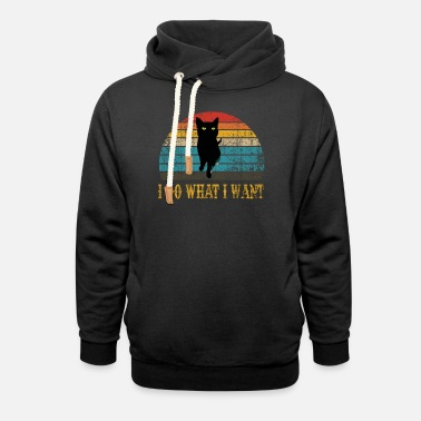 What i do what i want - Unisex Shawl Collar Hoodie