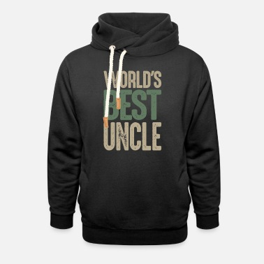 World's Best Uncle - Unisex Shawl Collar Hoodie