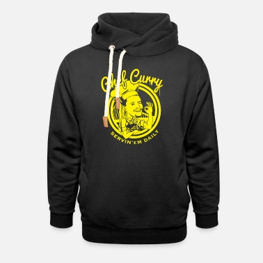 Golden State Warriors Chef Curry Steph Golden State Warriors NBA MVP Bas - Unisex Shawl Collar Hoodie