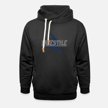 Freestyle Freestyle on Snowboard - Unisex Shawl Collar Hoodie