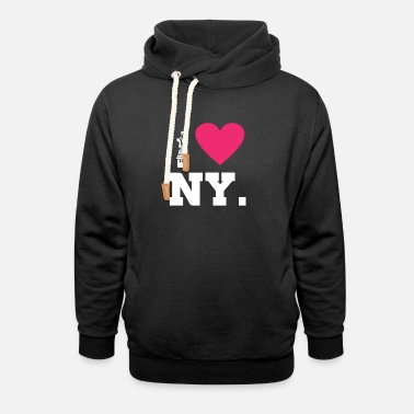Statue NYC Souvenir product Statue of Liberty New York - Unisex Shawl Collar Hoodie