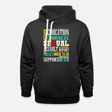 Assault Assault Awareness - Unisex Shawl Collar Hoodie