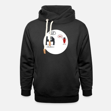 Floppy Disk vs USB I m your father - Unisex Shawl Collar Hoodie