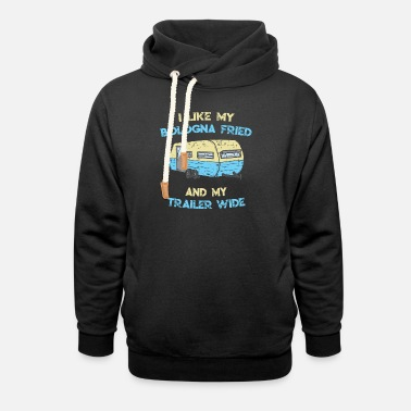 Bologna Fried Trailer Wide - Unisex Shawl Collar Hoodie