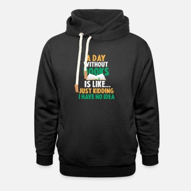 A Day Without Reading Is Like - Unisex Shawl Collar Hoodie