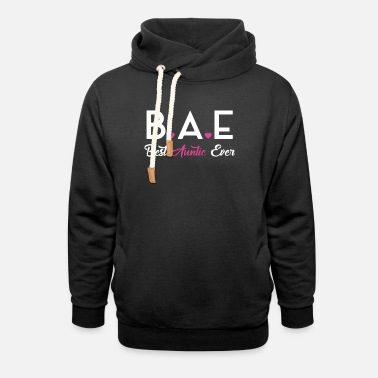 Best Aunt Ever bae best auntie ever t-shirts - Unisex Shawl Collar Hoodie