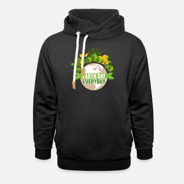 Earth Day Earth Day Every Day - Unisex Shawl Collar Hoodie