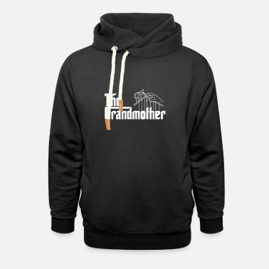 The grandmother - Unisex Shawl Collar Hoodie