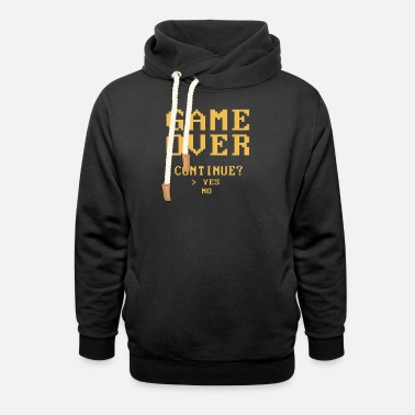 Game Over GAME OVER - Unisex Shawl Collar Hoodie
