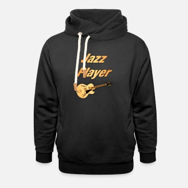 Jazz Jazz Player - Unisex Shawl Collar Hoodie