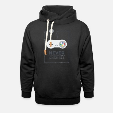 Gaming Retro Gaming - Unisex Shawl Collar Hoodie