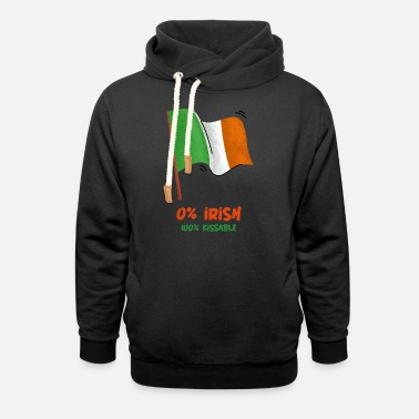 Irish Pub Irish Boys Ireland St. Patrick's Day - Unisex Shawl Collar Hoodie