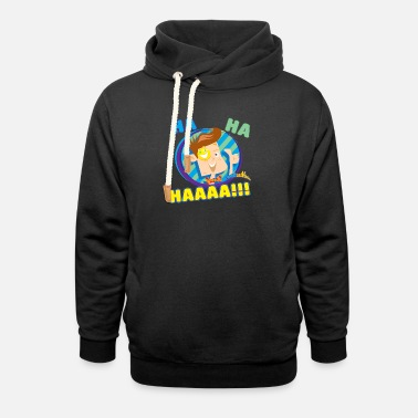 FUNnel Ha Ha Kids Premium T-Shirt - Unisex Shawl Collar Hoodie