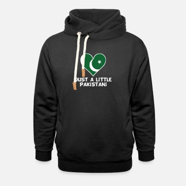 Funny Pakistani Just A Little Pakistani - Unisex Shawl Collar Hoodie