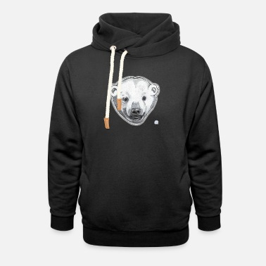 Save the Icebear - Unisex Shawl Collar Hoodie