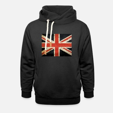 Union Jack union jack british flag - Unisex Shawl Collar Hoodie