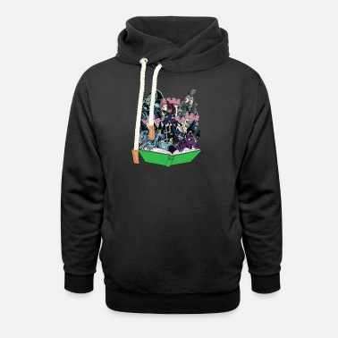 Gaming World of Toons - Shawl Collar Hoodie