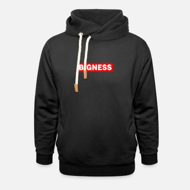 Gta BIGNESS Red - Shawl Collar Hoodie