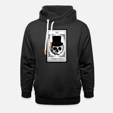 Maladicts Minions Front Final - Unisex Shawl Collar Hoodie
