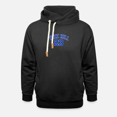 One Tree Hill TREE HILL BASKETBALL - Unisex Shawl Collar Hoodie