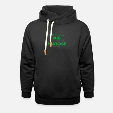 Slow Living Movement dont be a hare - Unisex Shawl Collar Hoodie