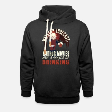 Creepy Horror Movie - Unisex Shawl Collar Hoodie