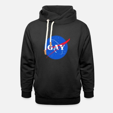 Pride Magazine Sounds Gay I m In - Unisex Shawl Collar Hoodie