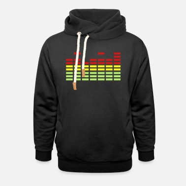 Equalizer Equalizer - Unisex Shawl Collar Hoodie