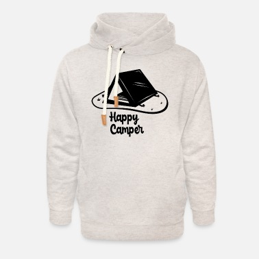 New York City Happy camper - Unisex Shawl Collar Hoodie