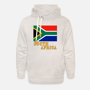 Africa South Africa - Unisex Shawl Collar Hoodie