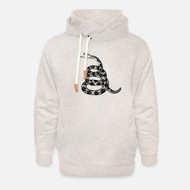 Dont Tread On Me ZAIAS Dont Tread On Me - Unisex Shawl Collar Hoodie