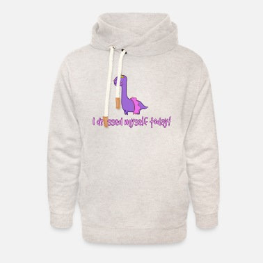 I dressed myself today! - Unisex Shawl Collar Hoodie