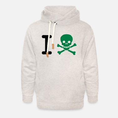 Provocation I hate - Unisex Shawl Collar Hoodie