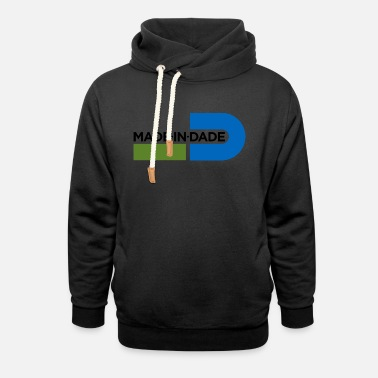 Miami Made in Dade 1 - Unisex Shawl Collar Hoodie
